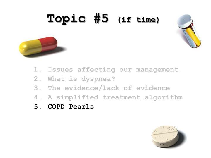 Topic #5