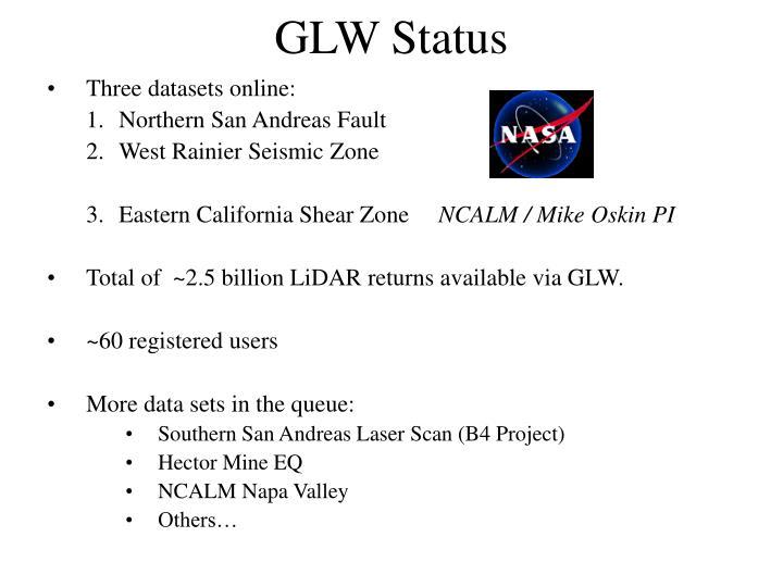 GLW Status