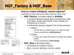 hgf factory hgf base