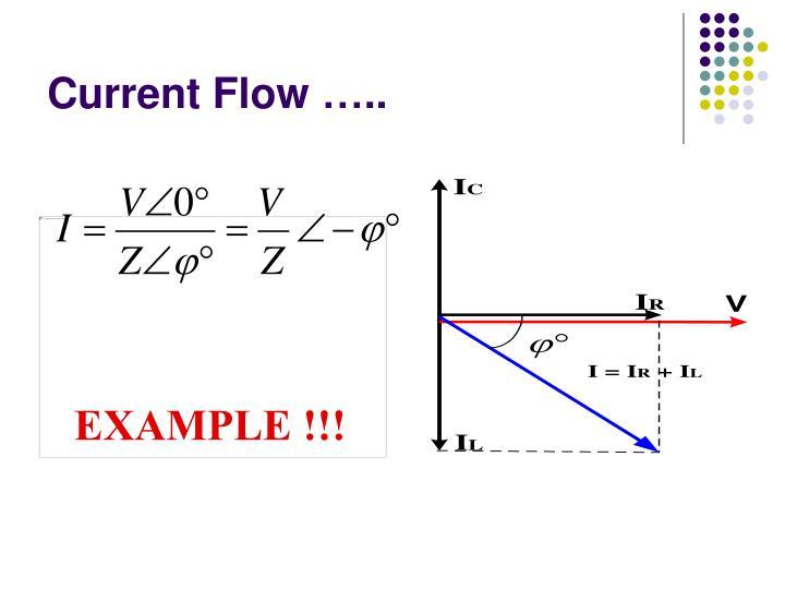 Current Flow …..