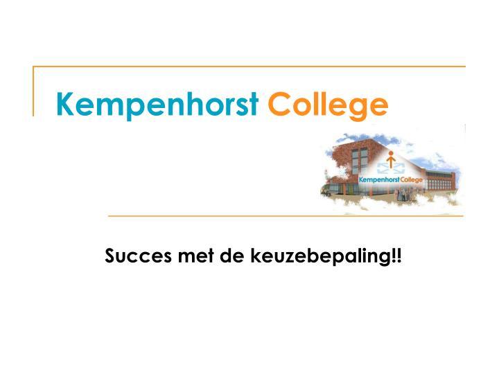 Kempenhorst
