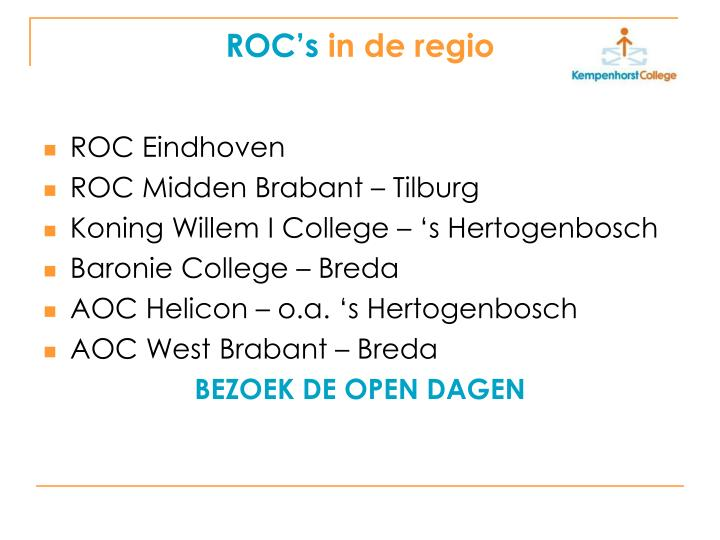 ROC's