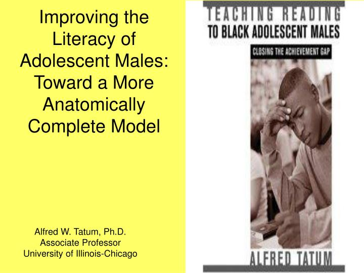 Improving the literacy of adolescent males toward a more anatomically complete model