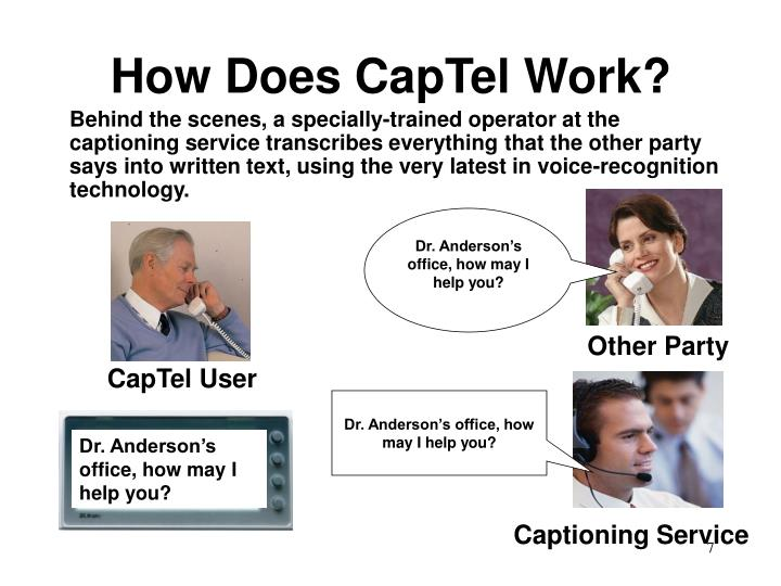 How Does CapTel Work?