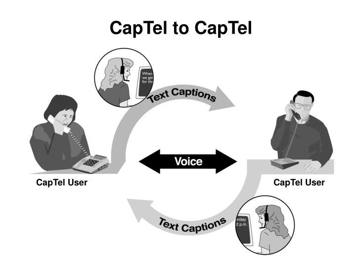 CapTel to CapTel