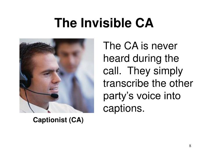 The Invisible CA
