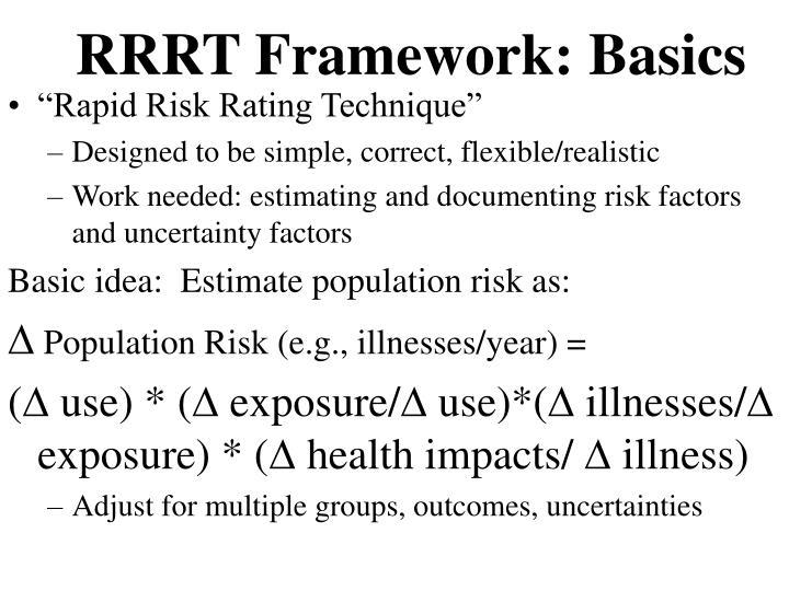 RRRT Framework: Basics