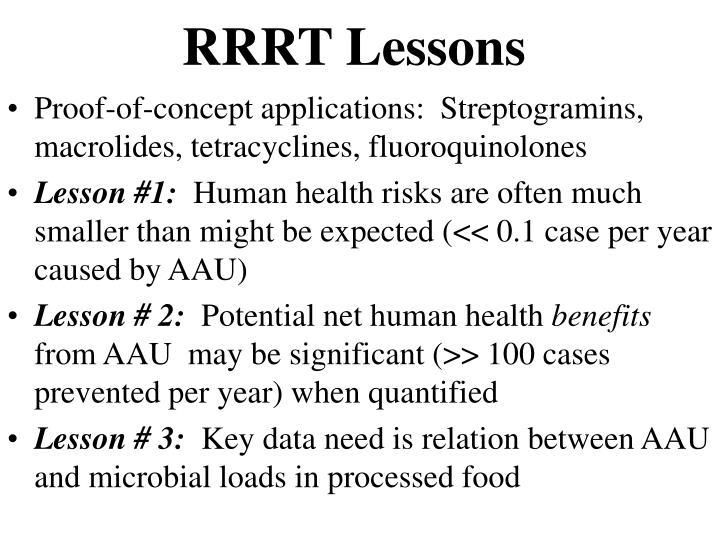 RRRT Lessons
