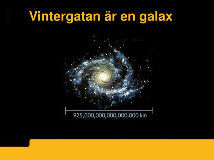 vad är en galax