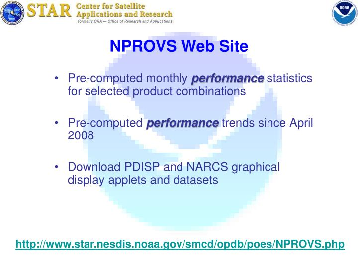 NPROVS Web Site