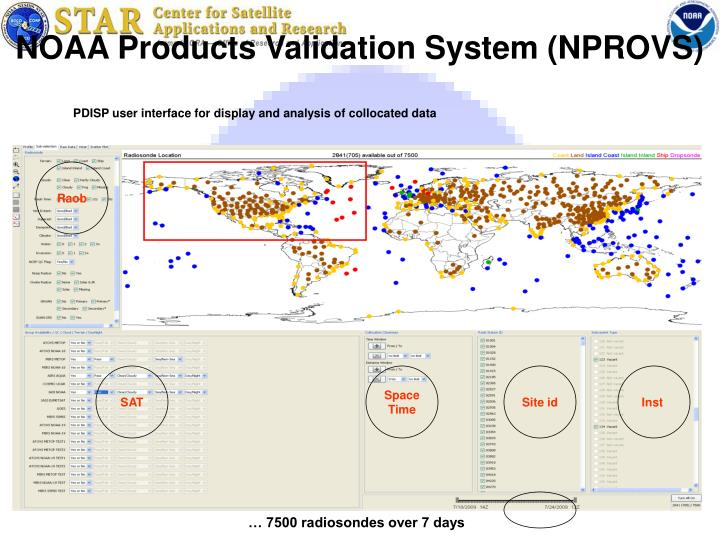 NOAA Products Validation System (NPROVS)