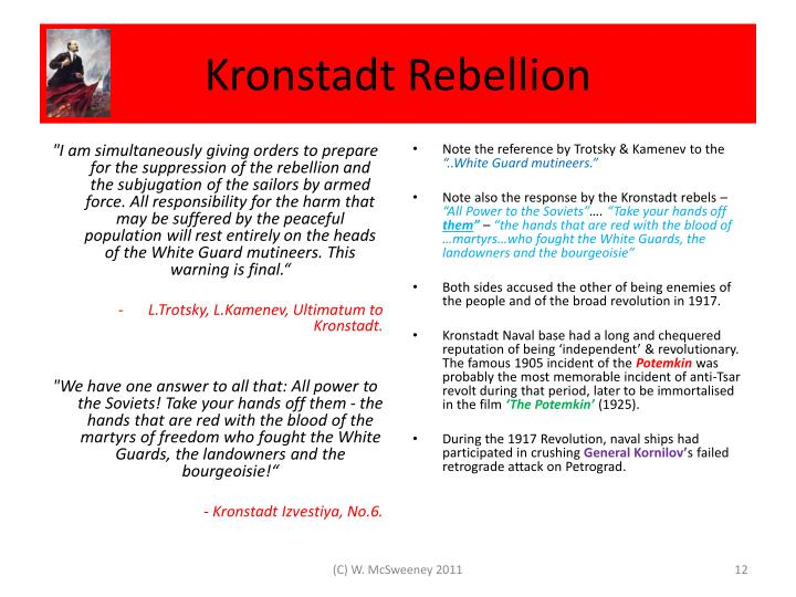 Kronstadt Rebellion