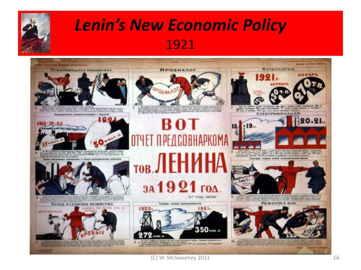 Lenin's New Economic Policy
