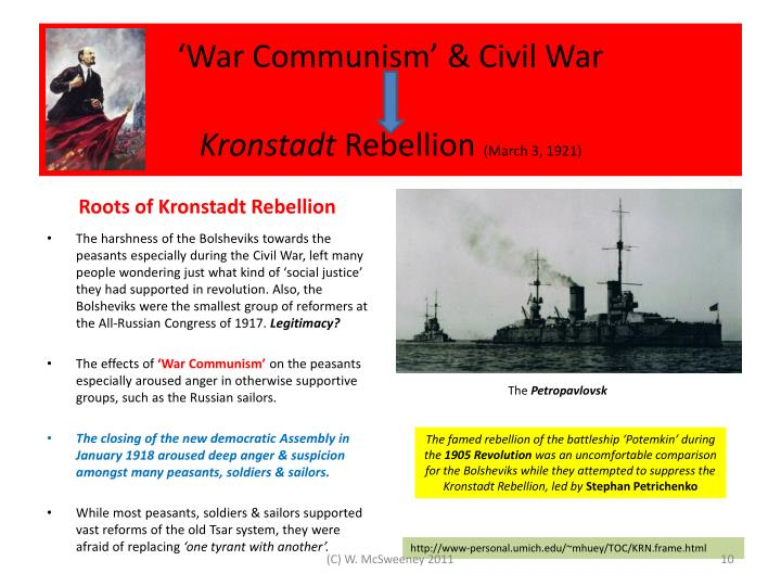 'War Communism' & Civil War