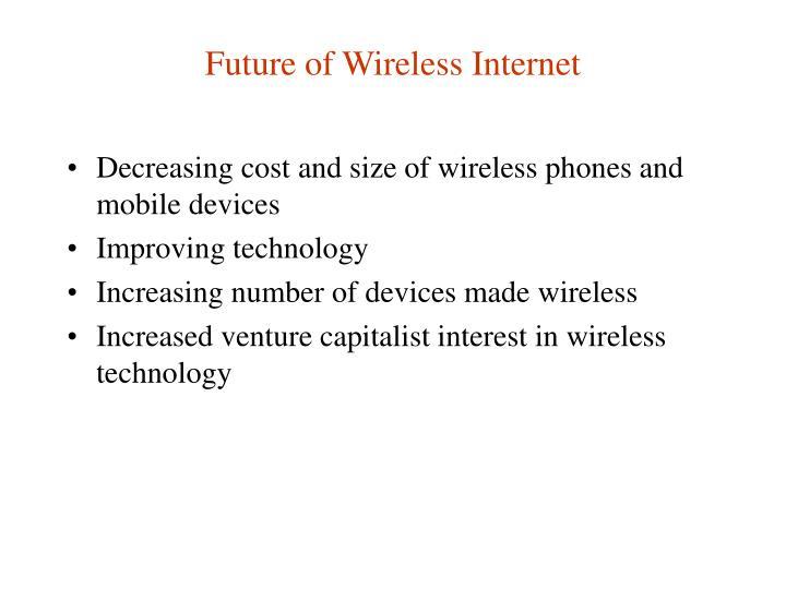 Future of Wireless Internet