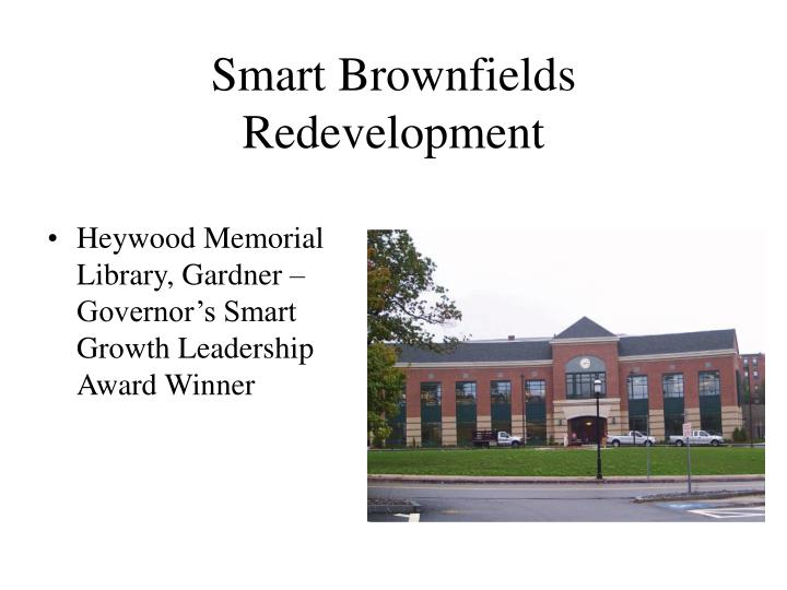 Smart Brownfields Redevelopment