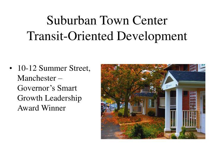 Suburban Town Center