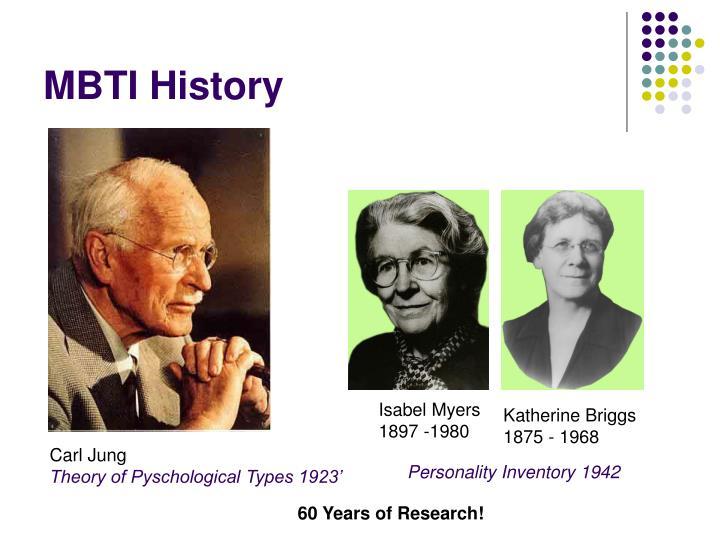 MBTI History
