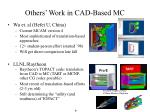 others work in cad based mc