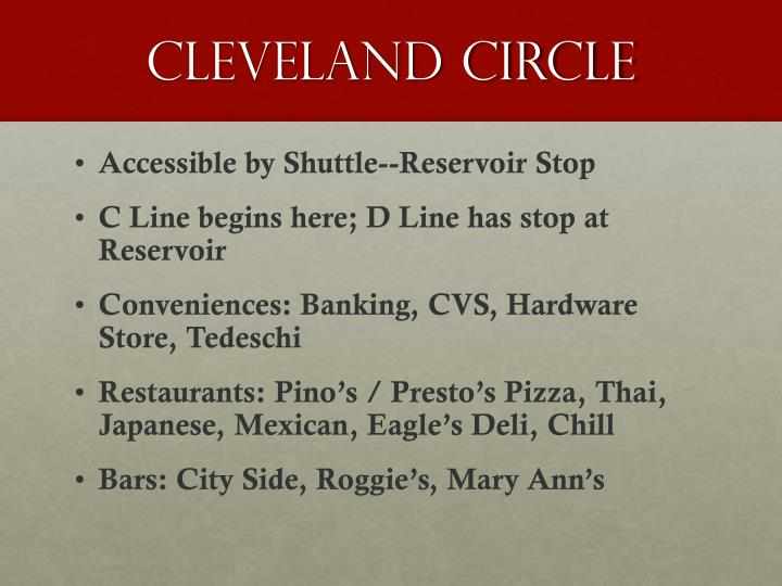Cleveland Circle