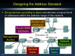 designing the address standard