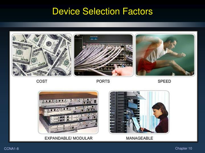 Device Selection Factors