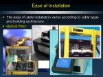 ease of installation1