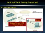 lan and wan getting connected1