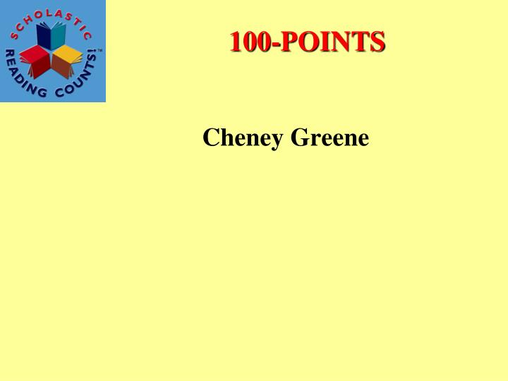 Cheney Greene