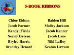 5 book ribbons1