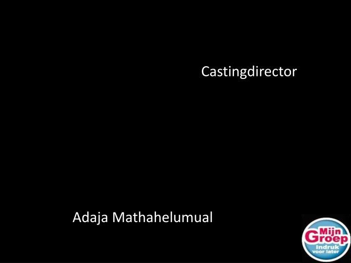 Castingdirector