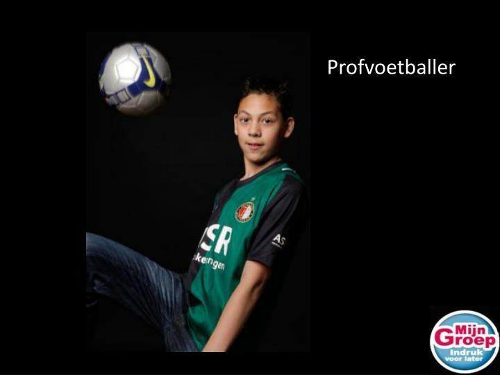 Profvoetballer