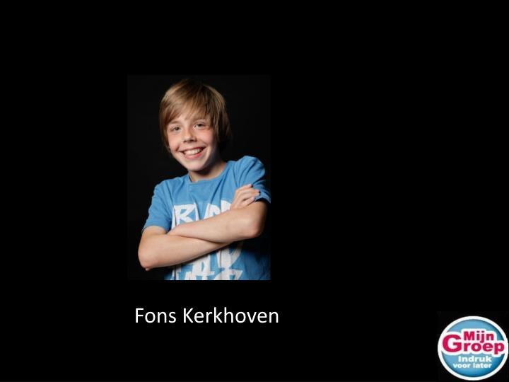 Fons Kerkhoven