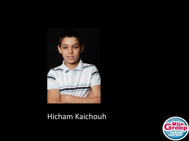 Hicham Kaichouh