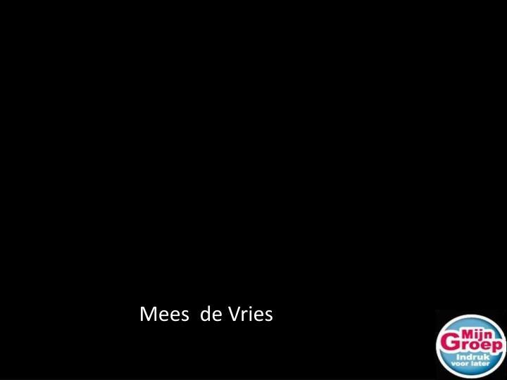 Mees  de Vries