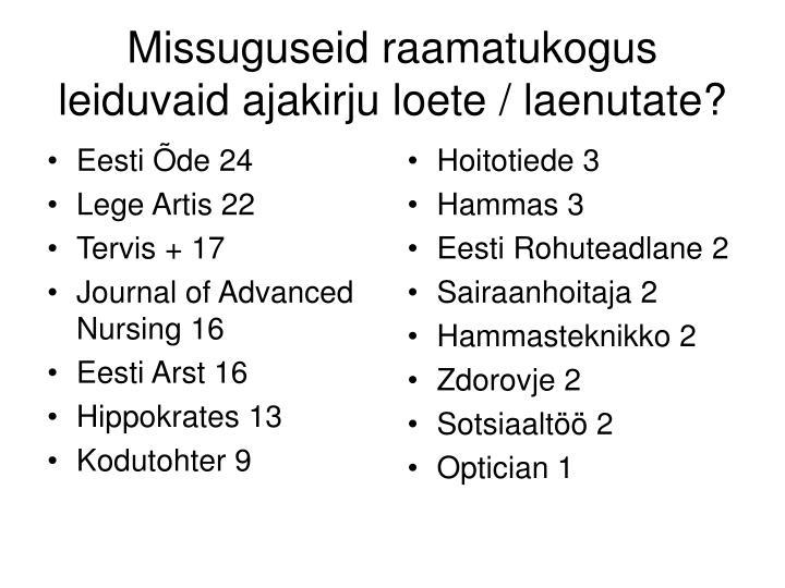 Eesti Õde 24