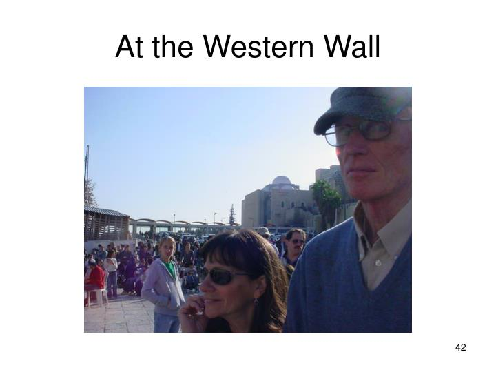 At the Western Wall