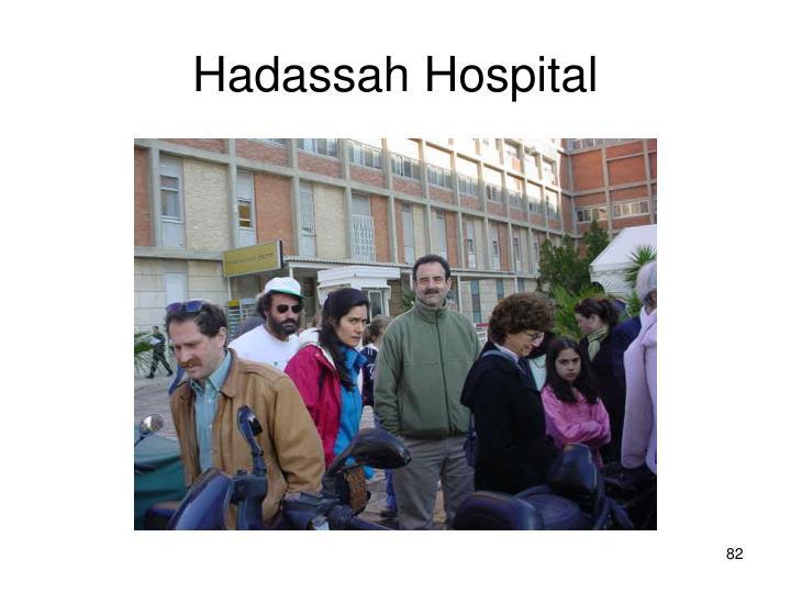 Hadassah Hospital