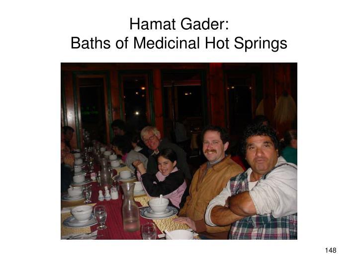 Hamat Gader: