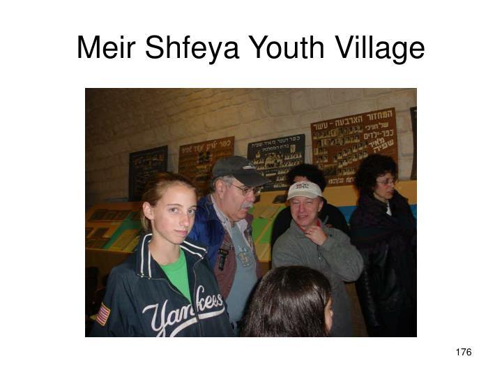 Meir Shfeya Youth Village
