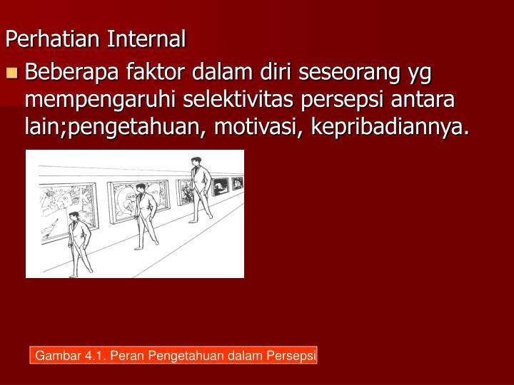 Perhatian Internal