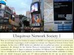 ubiquitous network society 1