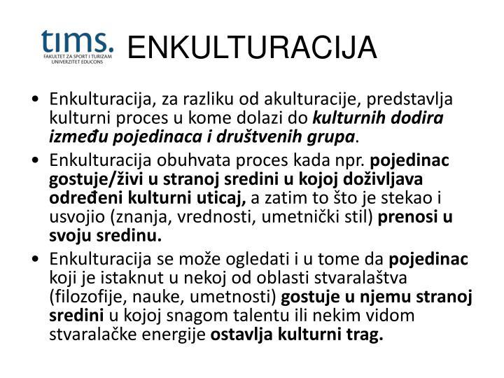 ENKULTURACIJA