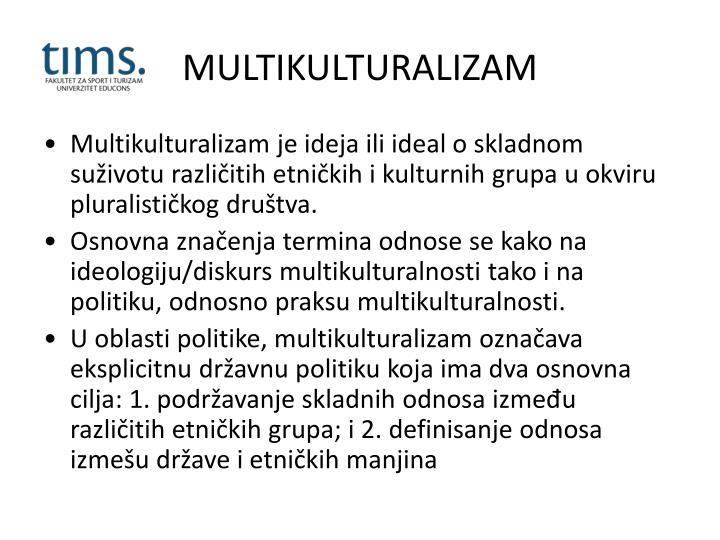 MULTIKULTURALIZAM
