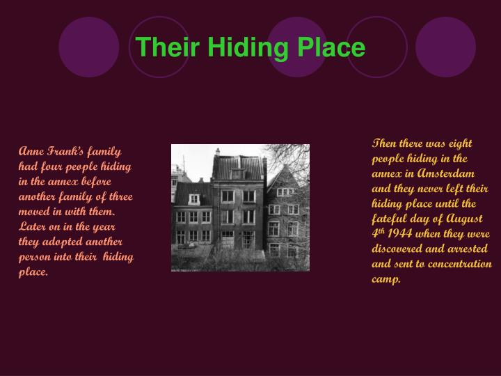 Their hiding place