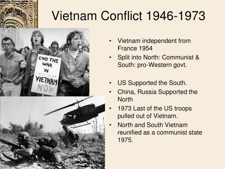 Vietnam Conflict 1946-1973