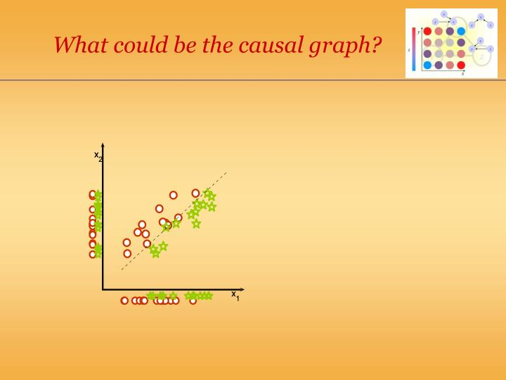 What could be the causal graph?
