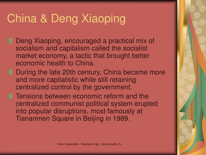 China & Deng Xiaoping