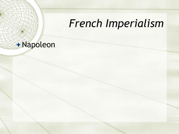 French Imperialism