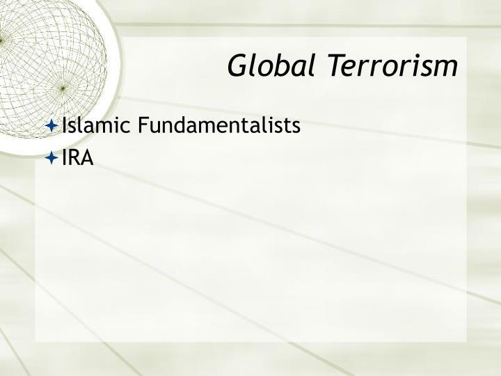 Global Terrorism